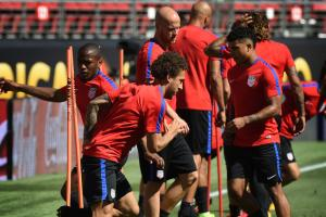 USA trains before facing Colombia in the opening game of Copa America