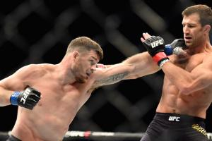 Bisping calls Rockhold homophobic slur after fight