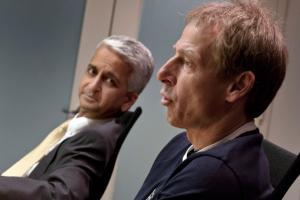 U.S. Soccer president Sunil Gulati and men's national team manager Jurgen Klinsmann
