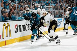 Penguins' defense is causing havoc for Sharks
