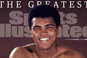 Muhammad Ali featured on historic SI covers