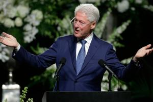 Watch: Bill Clinton speaks at Ali's funeral