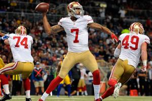 Kaepernick says he's 'excited' about being a 49er