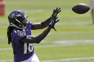 Report: Ravens' Perriman has partially torn ACL