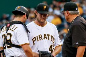 pittsburgh pirates gerrit cole francisco cervelli injury status update