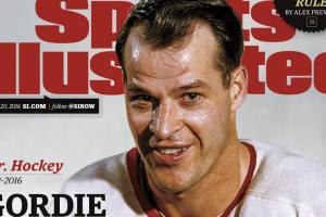 Gordie Howe featured on Sports Illustrated cover