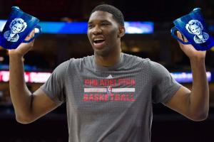 Embiid: I drink pitchers of Shirley Temple daily