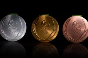 Photos: 2016 Olympic medals unveiled