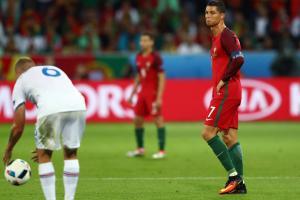 Cristiano Ronaldo struggled against Iceland in Portugal's Euro 2016 opener