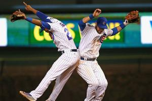 Addison Russell and Ben Zobrist, Chicago Cubs