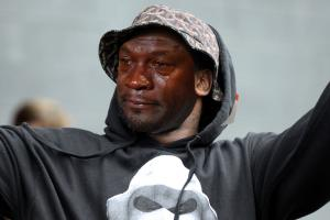 Schoolboy Q's new album cover is Crying MJ
