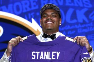Heartwarming story of Ronnie Stanley adopting dog