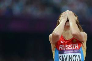 Russia's track team banned for Olympics by IAAF