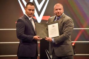 WWE signs first Chinese wrestler, Bin Wang