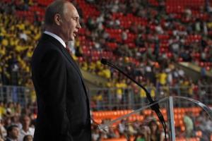 Vladimir Putin rips Russian Olympic doping ban