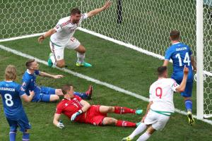 An Iceland own goal forced a 1-1 draw against Hungary at Euro 2016
