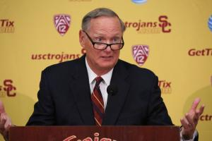 Report: USC AD Haden earned $2.4M for charity role