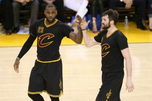 Cavs wearing sleeved jerseys in Game 7