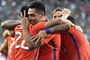 Chile crushes Mexico 7-0 at Copa America Centenario