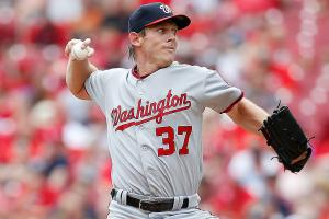 Strasburg (back) scratched from start Monday