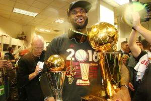 LeBron reaches peak by bringing Cleveland a title