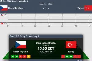 LIVE: Czech Republic vs. Turkey, Euro 2016