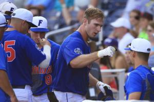 No. 1 Florida eliminated from College World Series