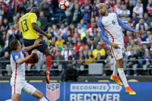 USA center back John Brooks is opening eyes with his play at Copa America