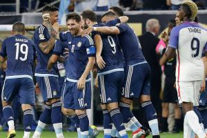 USA overrun in Copa semifinals by Messi, Argentina