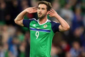 Will Grigg gets massive reception in N. Ireland