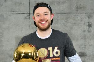 The Cleveland Cavaliers played beer pong at Matthew Dellavedova's