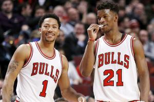 Jimmy Butler posts tribute to Derrick Rose