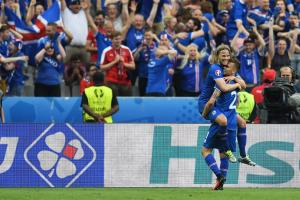 Watch: Amazing home call of Iceland's game-winner