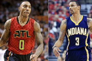 jeff-teague-george-hill-trade-hawks-pacers-jazz