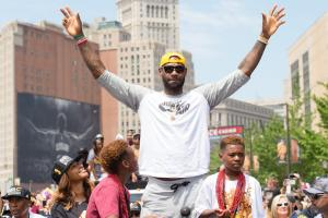 Crazy photos from the Cavs parade