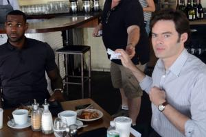 Fans think Bill Hader, LeBron James are friends