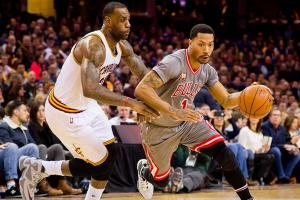 Derrick Rose, LeBron James legacies intertwined