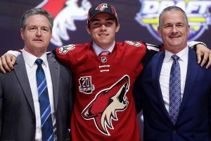 BU hockey stands out in first round of NHL draft