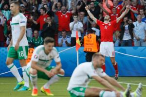 Wales tops N. Ireland on own goal, onto quarters