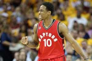 DeMar DeRozan focused on staying in Toronto