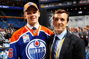 Ex-Caps GM George McPhee watches son get drafted