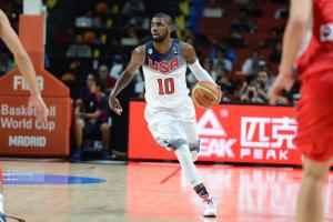 Report: Kyrie Irving to play in Olympics