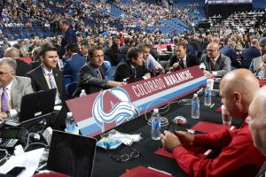 NHL draft: Phones symbolize the heat of the action