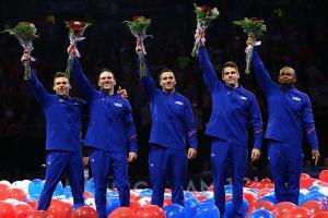 Analyzing the U.S. Olympic men's gymnastics team