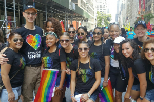 NBA, WNBA stand with LGBT community at parade