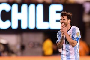 Messi badly misses kick in Copa America shootout