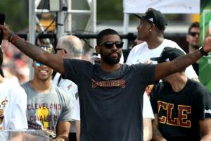 Don't drink out of a shoe in front of Kyrie Irving