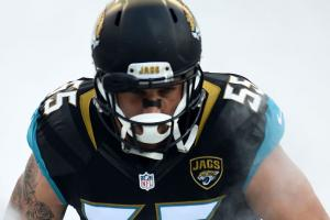 Jaguars LB Dan Skuta arrested for battery