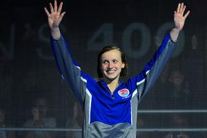 Olympic swimming trials: Katie Ledecky dominates