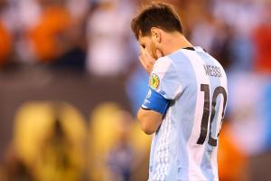 Copa failure pushes Messi to Argentina retirement